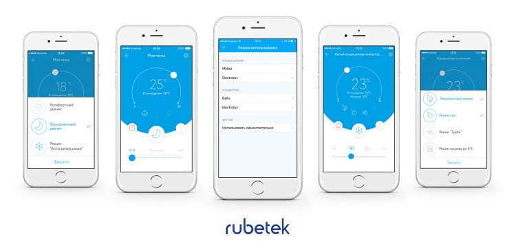 Wi-Fi модуль управления Rubetek