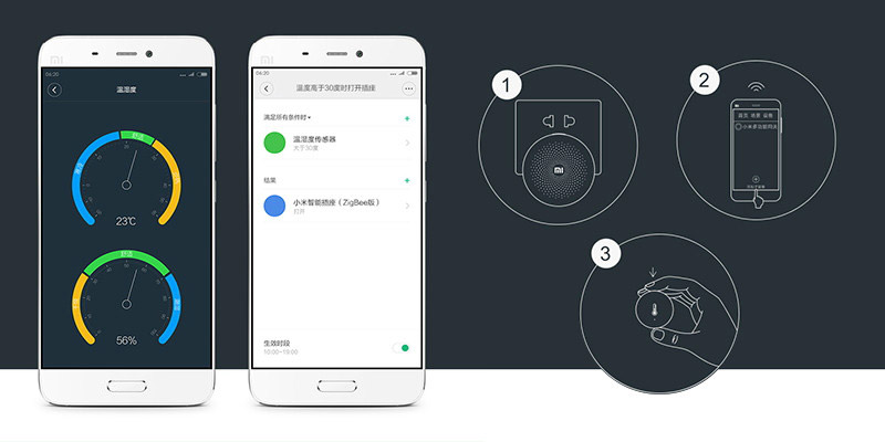 Xiaomi Mi Temperature and Humidity Sensor