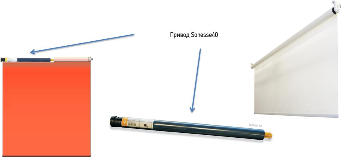 Somfy Sonesse 40